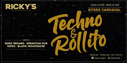 Techno Rollito - Carnaval @RickysClub Sitges