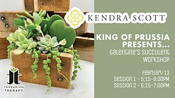 Galentine's Succulent Workshop at Kendra Scott King of Prussia