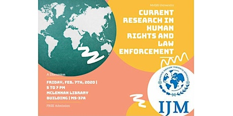 Humanitarianism, Human Rights, and Law Enforcement: A Discussion on Current Research tickets