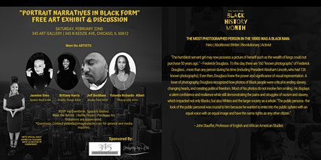 """Portrait Narratives in Black Form"" Art Exhibit and Discussion tickets"