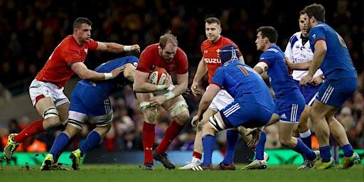 Wales V France at Bar Saint James