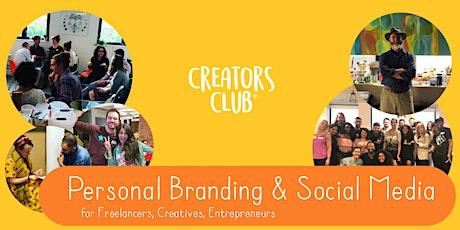 Newcastle Creators Club | MAY FOCUS: Personal Branding & Social Media tickets