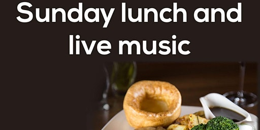 Sunday roast and live music | First sitting