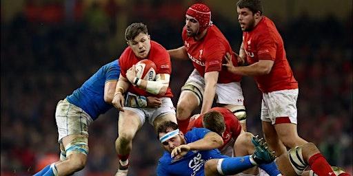 Wales V Italy at Bar Saint James