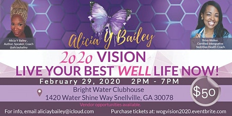 2020 Vision-Live Your Best Well Life Now! Vision Board & Wellness Workshop tickets