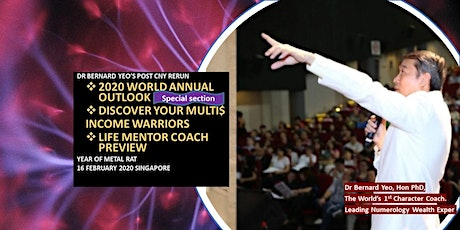 *[Highly Recommended - 2020 World Outlook. Life Mentor Coach Workshop]* tickets