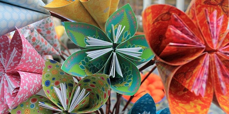 Origami Mother's Day flower bouquets tickets