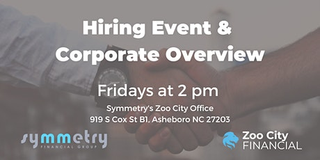Hiring Event & Weekly Meeting tickets