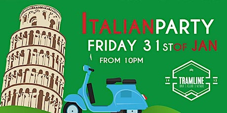 Italian Party tickets