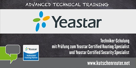Yeastar Certified Routing- & Security-Specialist (Advanced) - Nürnberg Tickets