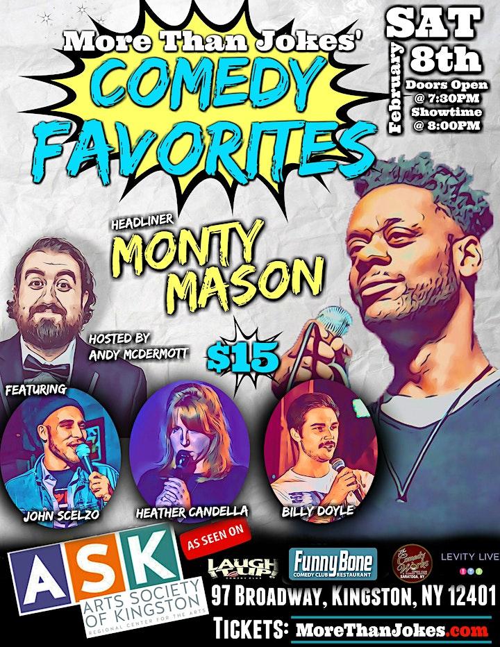 MTJ's Comedy Favorites! W/ Monty Mason image