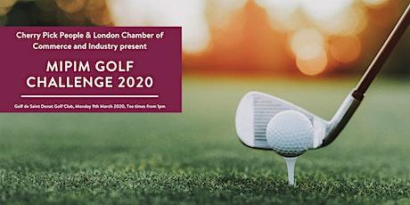 MIPIM Golf Challenge 2020 billets