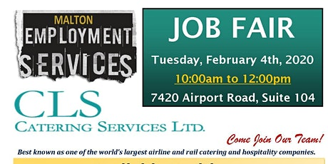 Aeroline Catering (CLS) Hiring Event tickets