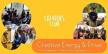 Bristol Creators Club | SEPTEMBER FOCUS: Creative Energy & Drive tickets