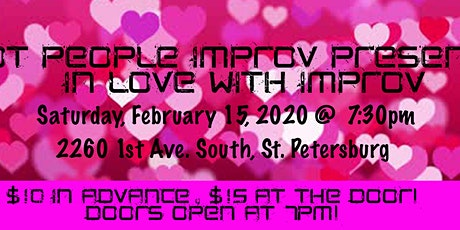 Hot People Presents: In Love With Improv tickets