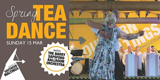 Spring Tea Dance with The Barry Sapsford Ballroom Orchestra
