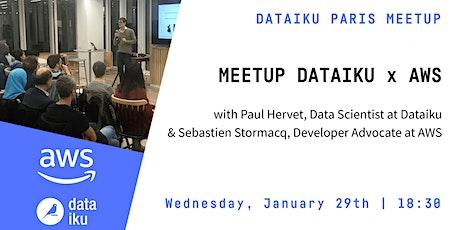 Meetup Dataiku x AWS billets