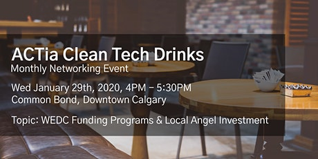 ACTia Clean Tech Drinks - Calgary Social tickets