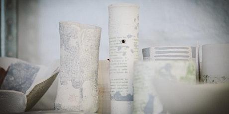 Workshop : Impressions d'images sur argile tickets
