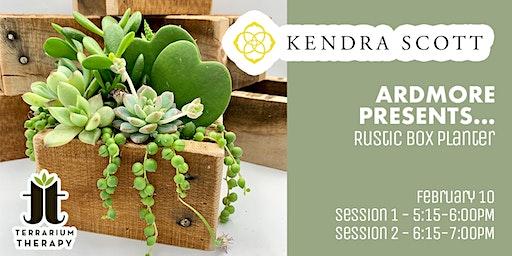 Succulent Workshop at Kendra Scott at Ardmore