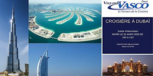 VISITEZ DUBAI, EN CROISIÈRE!
