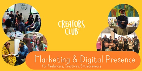 Newcastle Creators Club   OCTOBER FOCUS: Marketing & Digital Presence tickets