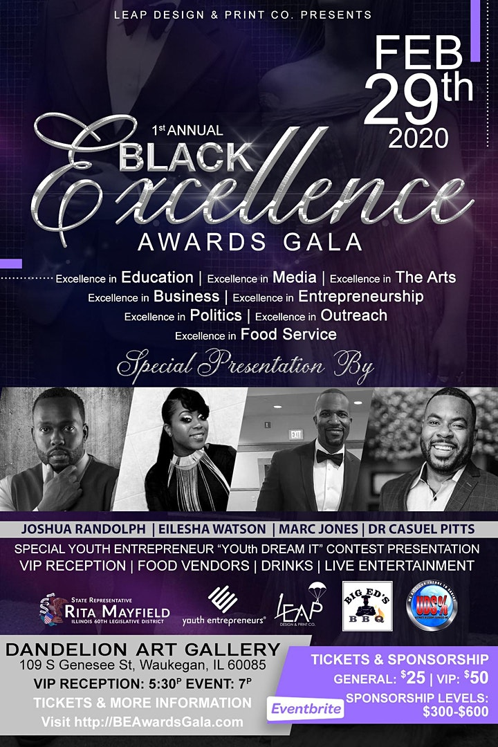 Black Excellence Awards Gala image