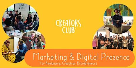 London Creators Club | OCTOBER FOCUS: Marketing & Digital Presence tickets