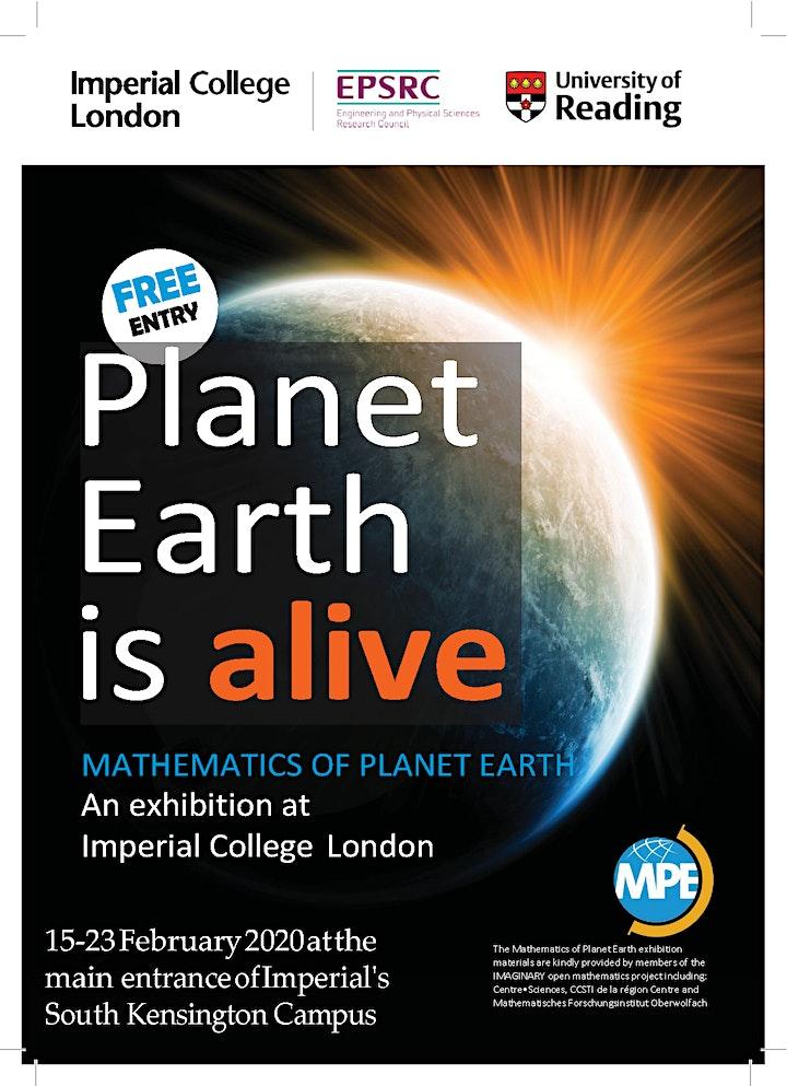 Mathematics of Planet Earth Exhibition 2020 image