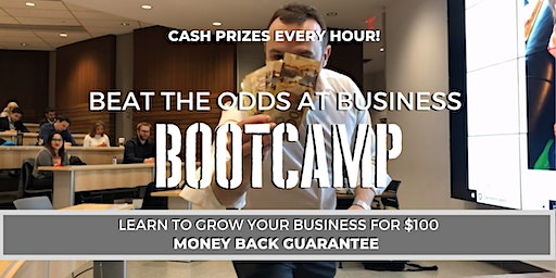 Beat The Odds At Business BootCamp #BEATTHEODDS