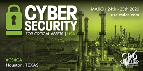 CS4CA: Industrial Cyber Security Summit USA | 24th - 25th March | Houston tickets