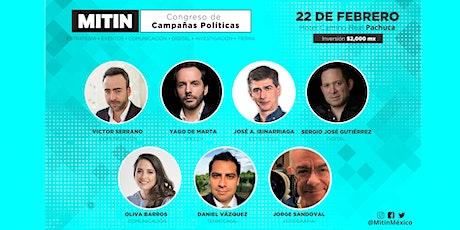 Congreso de Campañas Políticas Pachuca 2020 entradas