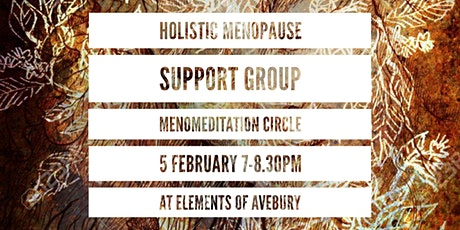MenoMeditation Circle (Menopause Support Group) - £10pp tickets