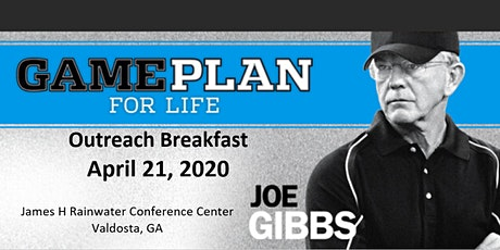 Game Plan for Life with Coach Joe Gibbs tickets