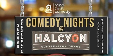 Comedy Nights @ Halcyon 2/12/20 tickets