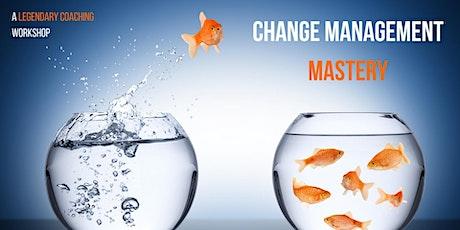 Change Management Mastery - Online tickets