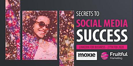 Generating Business in 2020 Through LinkedIn: Secrets to Digital Marketing Success tickets