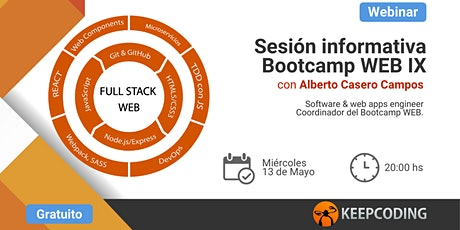 Sesión informativa: Full Stack Web Bootcamp - IX Edición  entradas