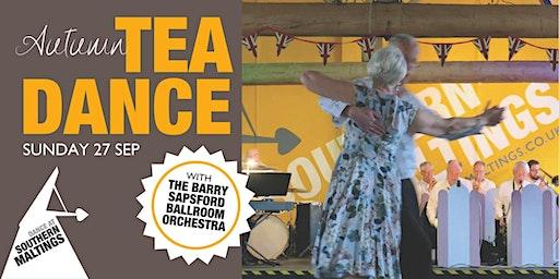 Autumn Tea Dance with The Barry Sapsford Ballroom Orchestra