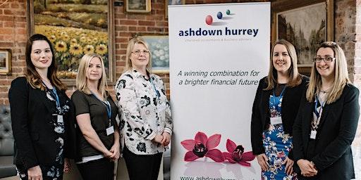 Ashdown Hurrey's Women In Business Lunch - Spring 2020
