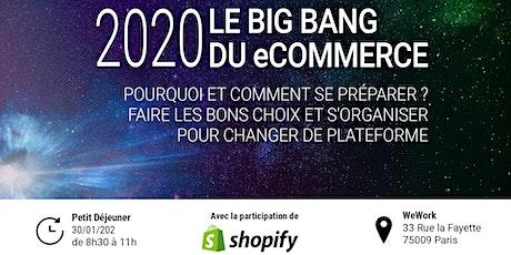 Petit Déjeuner: 2020 - LE BIG BANG DU ECOMMERCE billets