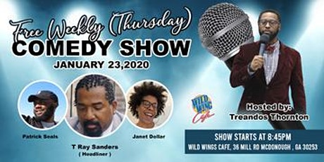 Comedy show (Wild Wings Cafe) tickets