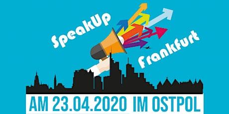 SpeakUp Frankfurt Tickets