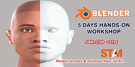 Blender 3D Animation Workshop Training tickets