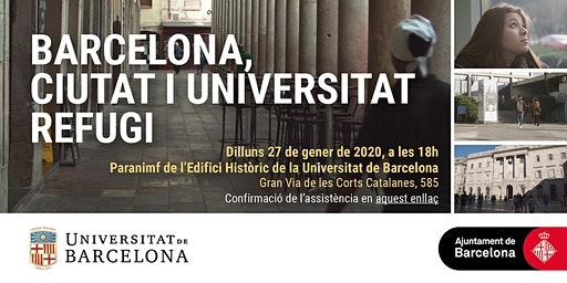 Barcelona: ciutat i universitat refugi
