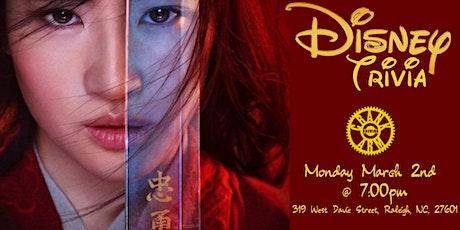 Disney Movie Trivia at Crank Arm Brewing tickets
