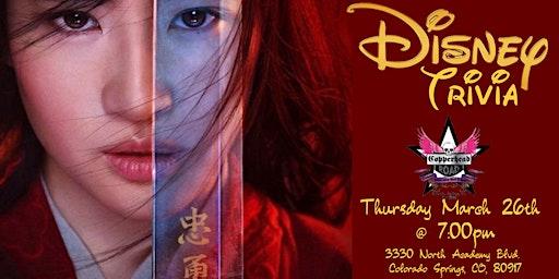 Disney Trivia at Copperhead Road Bar & Nightclub