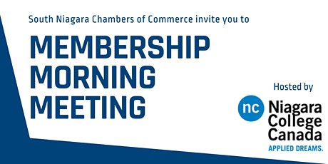 Membership Morning  Meeting tickets
