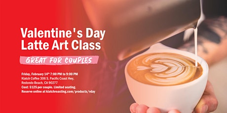 Valentine's Day Latte Art Class tickets