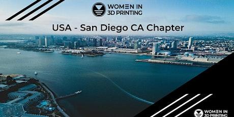 Women in 3D Printing San Diego - Engineering Week Happy Hour tickets